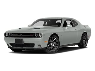 Bright White Clearcoat 2016 Dodge Challenger Pictures Challenger Coupe 2D R/T Plus V8 photos front view