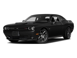 Pitch Black Clearcoat 2016 Dodge Challenger Pictures Challenger Coupe 2D R/T Plus V8 photos front view