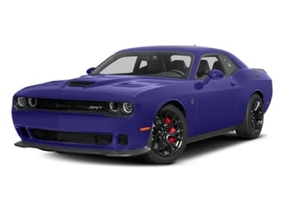 Plum Crazy Pearlcoat 2016 Dodge Challenger Pictures Challenger Coupe 2D SRT Hellcat V8 Supercharged photos front view