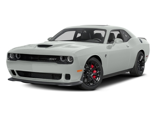 Bright White Clearcoat 2016 Dodge Challenger Pictures Challenger Coupe 2D SRT Hellcat V8 Supercharged photos front view