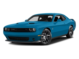 B5 Blue Pearlcoat 2016 Dodge Challenger Pictures Challenger Coupe 2D R/T Scat Pack V8 photos front view