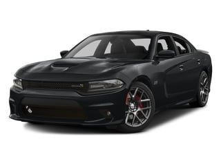 Granite Pearlcoat 2016 Dodge Charger Pictures Charger Sedan 4D R/T Scat Pack V8 photos front view