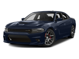 Jazz Blue Pearlcoat 2016 Dodge Charger Pictures Charger Sedan 4D R/T Scat Pack V8 photos front view