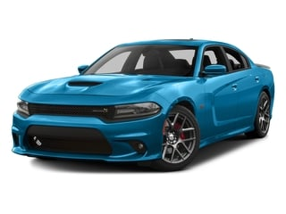 B5 Blue Pearlcoat 2016 Dodge Charger Pictures Charger Sedan 4D R/T Scat Pack V8 photos front view