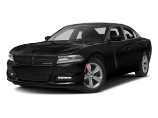 Pitch Black Clearcoat 2016 Dodge Charger Pictures Charger Sedan 4D SXT AWD V6 photos front view