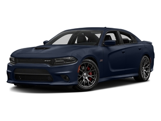 Jazz Blue Pearlcoat 2016 Dodge Charger Pictures Charger Sedan 4D SRT 392 V8 photos front view