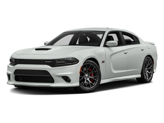 Bright White Clearcoat 2016 Dodge Charger Pictures Charger Sedan 4D SRT 392 V8 photos front view