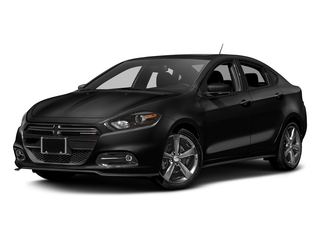 Pitch Black Clearcoat 2016 Dodge Dart Pictures Dart Sedan 4D GT I4 photos front view