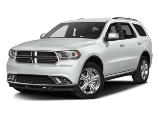 Bright White Clearcoat 2016 Dodge Durango Pictures Durango Utility 4D Limited AWD V6 photos front view