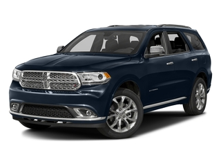 True Blue Pearlcoat 2016 Dodge Durango Pictures Durango Utility 4D Citadel AWD V6 photos front view