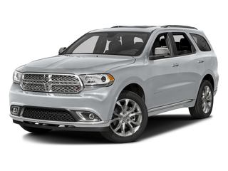 Billet Silver Metallic Clearcoat 2016 Dodge Durango Pictures Durango Utility 4D Citadel AWD V6 photos front view