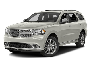 Ivory 3-Coat 2016 Dodge Durango Pictures Durango Utility 4D Citadel AWD V6 photos front view