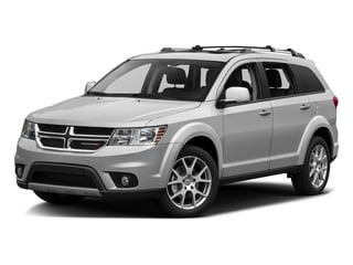 White 2016 Dodge Journey Pictures Journey Utility 4D R/T AWD V6 photos front view