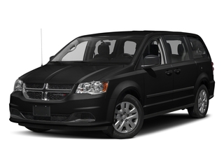 Brilliant Black Crystal Pearlcoat 2016 Dodge Grand Caravan Pictures Grand Caravan Grand Caravan SE V6 photos front view