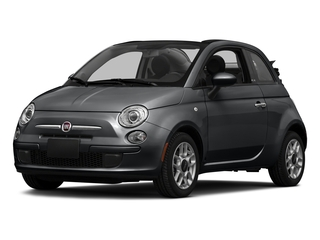 Granito Lucente (Granite Crystal) 2016 FIAT 500c Pictures 500c Convertible 2D Pop I4 photos front view