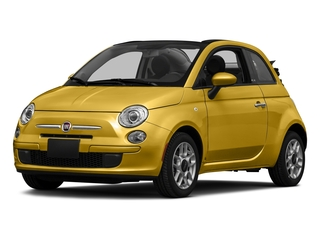 Giallo Moderna Perla (Pearl Yellow TC) 2016 FIAT 500c Pictures 500c Convertible 2D Pop I4 photos front view