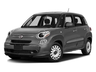 Grigio Scuro (Gray Metallic) 2016 FIAT 500L Pictures 500L Hatchback 5D L Pop I4 Turbo photos front view