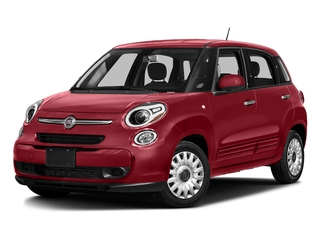 Rosso (Red) 2016 FIAT 500L Pictures 500L Hatchback 5D L Pop I4 Turbo photos front view