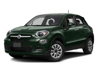 Verde Toscana (Green Metallic) 2016 FIAT 500X Pictures 500X Utility 4D Lounge 2WD I4 photos front view