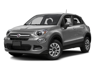 Grigio Arte (Gray Clear Coat) 2016 FIAT 500X Pictures 500X Utility 4D Lounge 2WD I4 photos front view