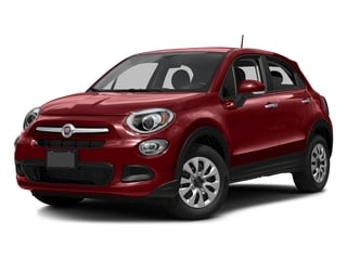 Rosso Passione (Red Hypnotique Clear Coat) 2016 FIAT 500X Pictures 500X Utility 4D Lounge 2WD I4 photos front view