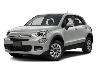 Bianco Gelato (White Clear Coat) 2016 FIAT 500X Pictures 500X Utility 4D Lounge 2WD I4 photos front view