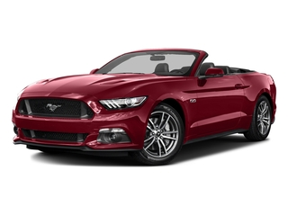 Ruby Red Metallic Tinted Clearcoat 2016 Ford Mustang Pictures Mustang Convertible 2D GT Premium V8 photos front view