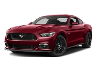Ruby Red Metallic Tinted Clearcoat 2016 Ford Mustang Pictures Mustang Coupe 2D GT V8 photos front view