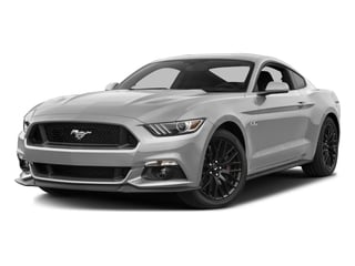 Ingot Silver Metallic 2016 Ford Mustang Pictures Mustang Coupe 2D GT V8 photos front view