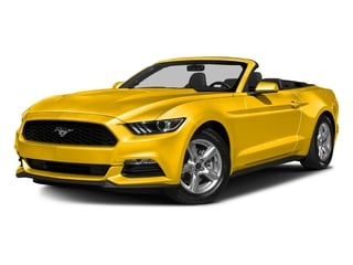 Triple Yellow Tri-Coat 2016 Ford Mustang Pictures Mustang Convertible 2D V6 photos front view