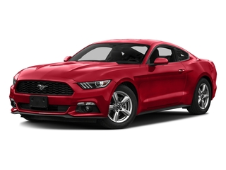 Race Red 2016 Ford Mustang Pictures Mustang Coupe 2D EcoBoost Premium I4 Turbo photos front view