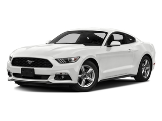 Oxford White 2016 Ford Mustang Pictures Mustang Coupe 2D EcoBoost Premium I4 Turbo photos front view