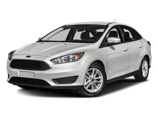 Oxford White 2016 Ford Focus Pictures Focus Sedan 4D S I4 photos front view