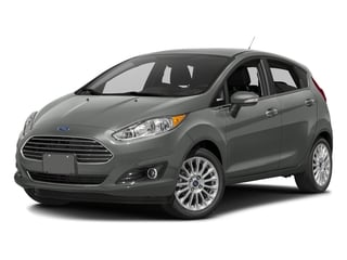 Magnetic Metallic 2016 Ford Fiesta Pictures Fiesta Hatchback 5D Titanium I4 photos front view