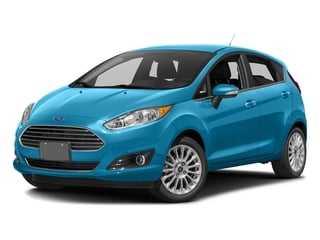 Blue Candy Metallic Tinted Clearcoat 2016 Ford Fiesta Pictures Fiesta Hatchback 5D Titanium I4 photos front view