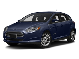 Kona Blue 2016 Ford Focus Electric Pictures Focus Electric Hatchback 5D Electric photos front view