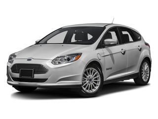 Ingot Silver 2016 Ford Focus Electric Pictures Focus Electric Hatchback 5D Electric photos front view