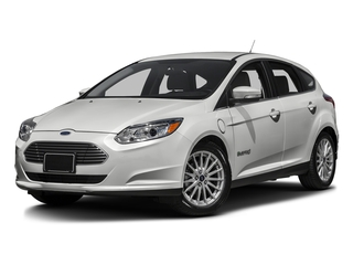 Oxford White 2016 Ford Focus Electric Pictures Focus Electric Hatchback 5D Electric photos front view