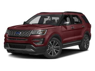 Bronze Fire Metallic Tinted Clearcoat 2016 Ford Explorer Pictures Explorer Utility 4D Platinum 4WD V6 photos front view