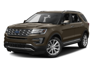Caribou Metallic 2016 Ford Explorer Pictures Explorer Utility 4D Limited 2WD V6 photos front view