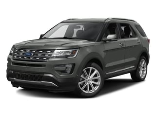 Magnetic Metallic 2016 Ford Explorer Pictures Explorer Utility 4D Limited 2WD V6 photos front view