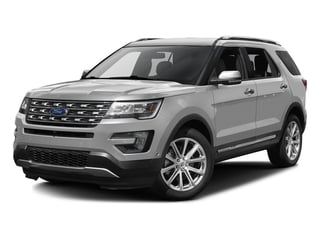 Ingot Silver Metallic 2016 Ford Explorer Pictures Explorer Utility 4D Limited 2WD V6 photos front view