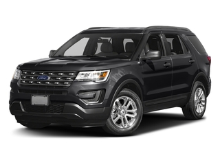 Shadow Black 2016 Ford Explorer Pictures Explorer Utility 4D EcoBoost 2WD I4 photos front view
