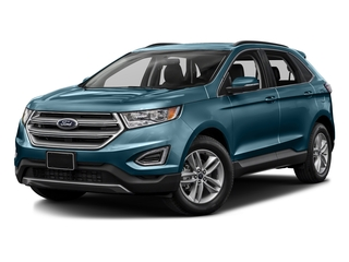 Too Good To Be Blue Metallic 2016 Ford Edge Pictures Edge Utility 4D SEL 2WD V6 photos front view