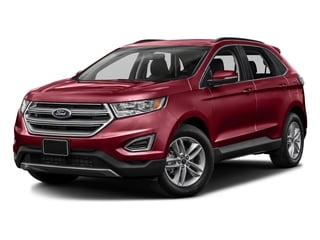 Ruby Red Metallic Tinted Clearcoat 2016 Ford Edge Pictures Edge Utility 4D SEL 2WD V6 photos front view