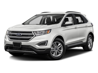 Oxford White 2016 Ford Edge Pictures Edge Utility 4D SEL 2WD V6 photos front view