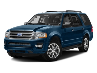 Blue Jeans Metallic 2016 Ford Expedition Pictures Expedition Utility 4D XLT 4WD V6 Turbo photos front view