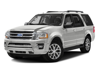 White Platinum Metallic Tri-Coat 2016 Ford Expedition Pictures Expedition Utility 4D XLT 4WD V6 Turbo photos front view