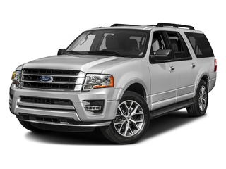 Ingot Silver Metallic 2016 Ford Expedition EL Pictures Expedition EL Utility 4D XLT 2WD V6 Turbo photos front view