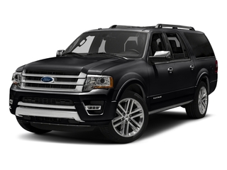 Shadow Black 2016 Ford Expedition EL Pictures Expedition EL Utility 4D Platinum 4WD V6 Turbo photos front view
